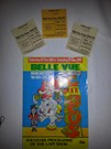 Program and tickets from the last day of Belle Vue circus